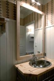 Imagen detalle de un cuarto de baño de una vivienda particular. Diseño de interiores y decoración obra del estudio de arquitectura e interiorismo Cristina Arechabala.