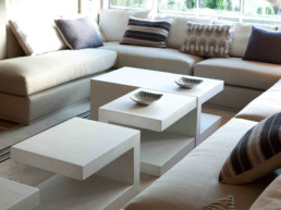 Imagen de un salón de estar de una vivienda de lujo. Proyecto del estudio de arquitectura y diseño de interiores de Cristina Arechabala.