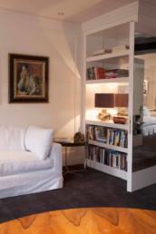 Imagen de mobiliario de una sala de estar. Estudio de arquitectura e interiorismo Cristina Arechabala.