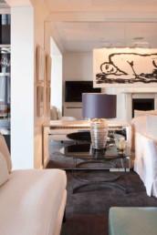 Imagen del salón de una vivienda decorado por el estudio de arquitectura y diseño de Cristina Arechabala.
