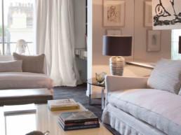 Imagen de un salón diseñado por el estudio de arquitectura y diseño Cristina Arechabala.