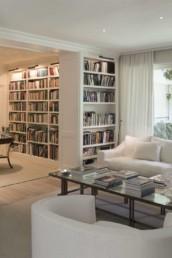 Imagen del interior del salón de una vivienda de lujo particular. Proyecto de decoración e interiorismo de Cristina Arechabala.