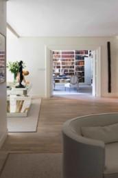 Imagen detalle de sala de estar en vivienda de lujo. Cortesía de estudio de arquitectura e interiorismo Cristina Arechabala.