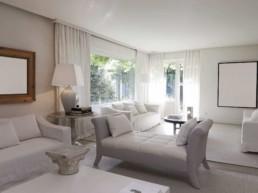 Imagen de un salón en vivienda particular. Decoración e interiorismo por estudio de arquitectura, decoración e interiorismo Cristina Arechabala.