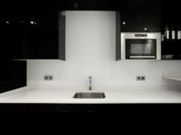 Imagen detalle de cocina de lujo en vivienda particular. Estudio de interiorismo y decoración Cristina Arechabala.