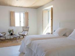 Imagen de dormitorio en vivienda particular. Proyecto de arquitectura e interiorismo del estudio de Cristina Arechabala.